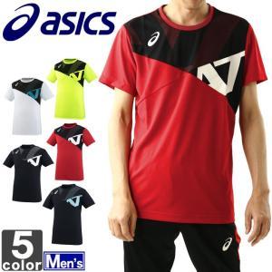 アシックス/asics  メンズ A77 半袖 トップ XA6226 1805 Tシャツ トップス|outlet-grasshopper