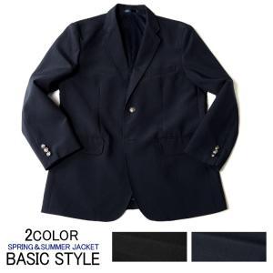 c6bab2ced8847e テーラードジャケット 紺ブレ メンズ ジャケット ブレザー 春夏 ご家庭で洗える メタルボタン 2ツボタンジャケット ビジネスジャケット COOLBIZ