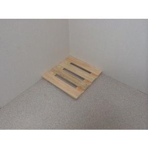押入れ すのこ スノコ 布団 木製 収納 日本製 クローゼット 通気性 カビ 湿気 国産 ひのき すのこ 30×30cm 2枚組 outlet-woodgoods