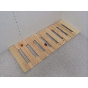 押入れ すのこ スノコ 布団 木製 収納 日本製 クローゼット 通気性 カビ 湿気 国産 ひのき すのこ 30×75cm 2枚組 outlet-woodgoods