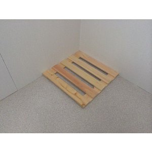 押入れ すのこ スノコ 布団 木製 収納 日本製 クローゼット 通気性 カビ 湿気 国産 ひのき すのこ 40×40cm 2枚組 outlet-woodgoods