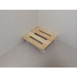 押入れ すのこ スノコ 布団 木製 収納 日本製 クローゼット 通気性  カビ 湿気 国産 ひのき すのこ 30×30cm キャスター付き 2枚組 outlet-woodgoods
