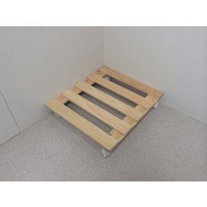 押入れ すのこ スノコ 布団 木製 収納 日本製 クローゼット 通気性 カビ 湿気 国産 ひのき すのこ 40×45cm キャスター付き 2枚組 outlet-woodgoods