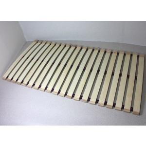 木製すのこロールベッド スプリングタイプ シングル100cm幅|outlet-woodgoods