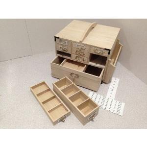 桐製薬箱 大容量のたっぷりサイズ|outlet-woodgoods