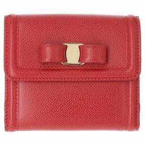 【箱破損】フェラガモ 折財布 レディース Salvatore Ferragamo 22C911 0007 0371|outleta