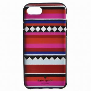 【訳あり】ケイトスペード geo stripe - 7 iphoneケース アイフォンケース 8ARU1954 0015 974|outleta