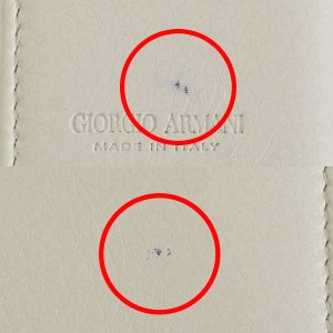 [お値段見直しました]【訳あり】ジョルジオアルマーニ メンズ 6連キーケース パステルアイボリー Y2R303 YDH4J 80011|outleta|02