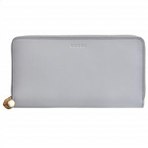 【訳あり】 GUCCI グッチ NYMPHAEA/ニムフェア レザー ラウンドファスナー財布|outleta