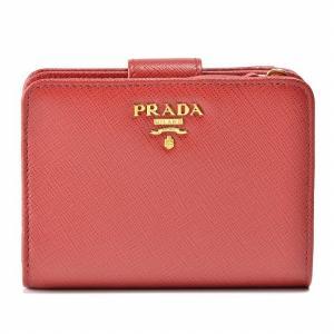 【訳あり】プラダ 財布 レディース サフィアーノメタル 二つ折り財布 FUOCO 1ML018 QWA 68Z|outleta