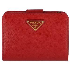 【訳あり】プラダ/PRADA 財布 ミニ財布 サフィアーノ 二つ折り財布 1ML018 QHH 68Z|outleta