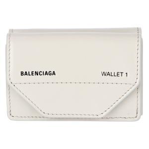 【訳あり】バレンシアガ 財布 二つ折り ミニ財布 GRIS CRAIE/L NO 529098 0ST2N 1260|outleta