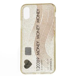 【訳あり】アイフォリア CREDIT CARD GLITTER for iPhone X / XS スマホケース 14504 0001|outleta
