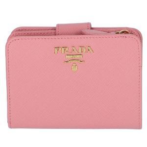 【訳あり】プラダ 財布 レディース サフィアーノ 二つ折り財布 PETALO 1ML018 QWA 442|outleta