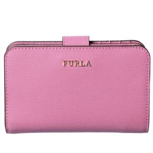 【訳あり】フルラ 二つ折り財布 折り財布 バビロン BABYLON ピンク系 AZALEA PR85 B30 WSF|outleta
