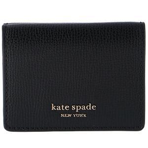 【訳あり】ケイトスペード KATE SPADE 財布 三つ折り ミニ財布 シルビア SYLVIA ブラック PWRU7395 0018 001|outleta