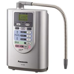 【新品/取寄品】パナソニック アルカリイオン整水器 TK7208P-S クリスタルシルバー