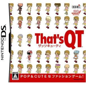 【新品/取寄品】[DSソフト] That's QT (ザッツ キューティー)  [NTR-P-CQTJ]|outletplaza