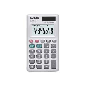 【新品/取寄品/代引不可】カシオカード型電卓 SL-797A-N outletplaza
