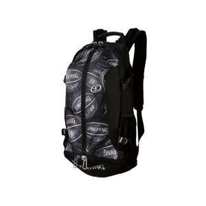 【新品/取寄品】バスケットプレイヤーのために開発されたバッグ ケイジャー ボールプリント 40-007BP|outletplaza