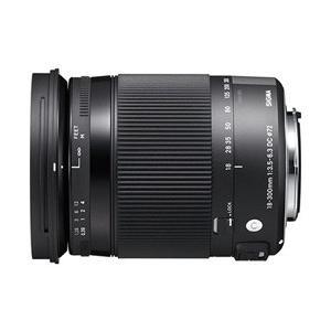 【新品/取寄品】SIGMA 18-300mm F3.5-6.3 DC MACRO OS HSM [ニ...