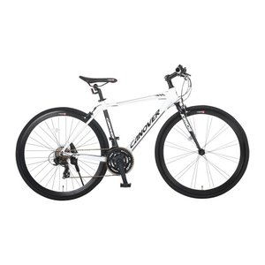 【新品/取寄品/代引不可】CANOVER CAC-028-CC KRNOS (クロノス) ホワイト(33993) 700c クロスバイク 21段変速【|outletplaza