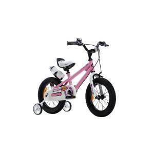 【新品/取寄品/代引不可】ROYALBABY(ロイヤルベビー) 14インチ子供用自転車 RB-WE FREESTYLE 14 Pink(35965)ピ|outletplaza