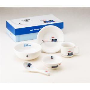 【タイムセール】【新品/在庫あり】金正陶器 きかんしゃトーマス(せんろ) こども食器ギフトセット (662740) (子供用食器 マグ スプーン 皿)|outletplaza