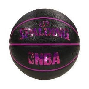 【次回5月下旬予定】【新品/取寄品/代引不可】バスケットボール ホログラム ラバー ブラックレッド 5号球 83-795J|outletplaza