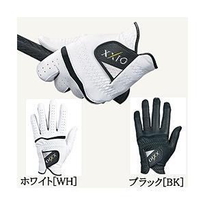 【新品/在庫あり】[右利き左手用] ゴルフグローブ ゼクシオ GGG-X012 [ブラック 25cm]|outletplaza