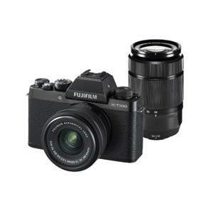 【新品/在庫あり】FUJIFILM X-T100 ダブルズームレンズキット ブラック