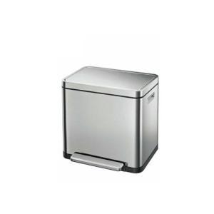 【新品/取寄品/代引不可】EKO X-CUBE STEP BIN EK9368MT-20L ステンレス おしゃれゴミ箱 エックスキューブステップビン【|outletplaza