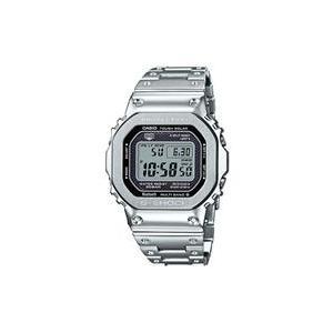 【新品/在庫あり】G-SHOCK GMW-B5000D-1JF デジタル電波ソーラー腕時計 フルメタル仕様 シルバー CASIO カシオ 腕時計 ジー outletplaza