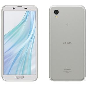 【新品/在庫あり】AQUOS sense2 SIMフリー [ホワイトシルバー] スマートフォン SH-M08S|outletplaza