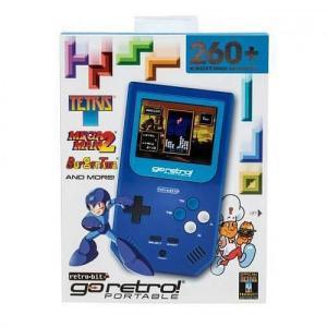 【新品/在庫あり】[海外輸入品] レトロビット Go Retro! Portable (ゴーレトロ! ポータブル) 青バージョン [RB-PP-992|outletplaza