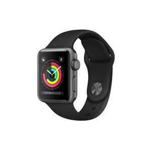 【新品/在庫あり】Apple Watch Series 3 GPSモデル 38mm MTF02J/A ブラックスポーツバンド|outletplaza