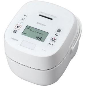 【新品/在庫あり】TOSHIBA RC-10VSP-W (ホワイト) 炎匠炊き ジャー炊飯器 5.5合 東芝|outletplaza