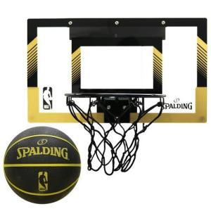 【新品/取寄品】スラムジャムバックボード NBAロゴ入り ゴールド/ブラック キッズ用バスケットゴール 56105T|outletplaza
