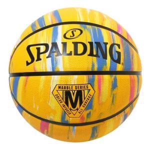 【新品/取寄品】バスケットボール マーブル イエロー ラバー 6号球 84-410Z|outletplaza