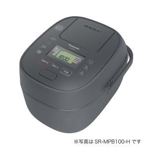 【新品/在庫あり】パナソニック 炊飯器 1升 可変圧力IH式 おどり炊き SR-MPB180-H  グレー|outletplaza