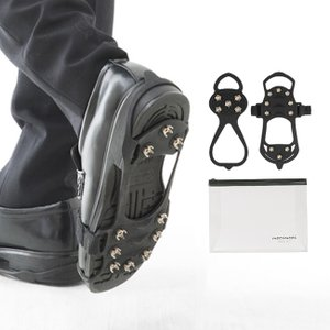 滑り止め  靴 ゴム かんたん装着 雪道用 ビジネス  靴底 氷 滑らない アイススパイク 送料無料