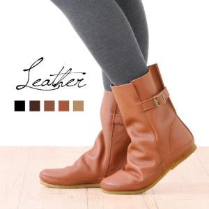 在庫限り ベルト付き本革ショートブーツ 送料無料  小さいサイズ・大きいサイズ(23.0〜25.0cm)対応 宅配便のみ|outletshoes