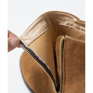 ショートブーツ レディース ヒール ブラウン 大きいサイズ サイドジップ 小さいサイズ 履きやすい 送料無料 新作早割4,190円 一部予約|outletshoes|17