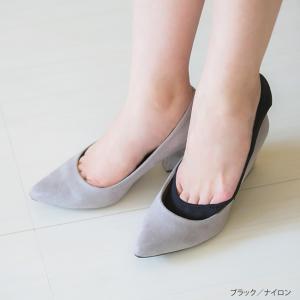 フットカバー カバーソックス 脱げない レディース 靴下 インナー 脱げづらい ムレにくい 浅履き 大きいサイズ メール便対象商品|outletshoes|04