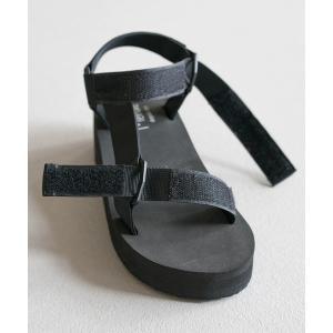 スポーツサンダル レディース 厚底 履きやすい 疲れない ベルクロ ウェッジソール 歩きやすい おしゃれ 送料無料|outletshoes|16