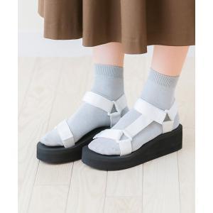 スポーツサンダル レディース 厚底 履きやすい 疲れない ベルクロ ウェッジソール 歩きやすい おしゃれ 送料無料|outletshoes|10