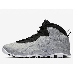 310805-062 AIR JORDAN 10 RETRO CEMENT LIGHT SMOKE ...