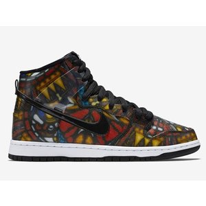 313171-606 NIKE DUNK HIGH PREMIUM SB CONCEPTS STAINED GLASS HOLY GRAIL SPECIAL LIMITED BOX|outnumber