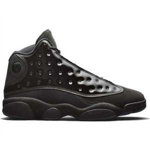 414571-012 AIR JORDAN 13 RETRO CAP AND GOWN BLACK ...