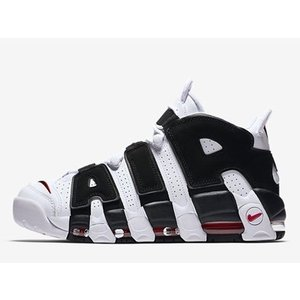 414962-105 NIKE AIR MORE UPTEMPO SCOTTIE PIPPEN IN YOUR FACE WHITE/BLACK-VARSITY RED ナイキ エア モア アップテンポ スコッティ ピッペン|outnumber